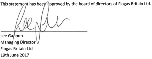 Lee Gannon signature